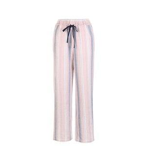 Image 5 - Chỉ Có Phụ Nữ Homewear Quần Dáng Rộng Mỏng Bộ Pyjama Sọc Quần