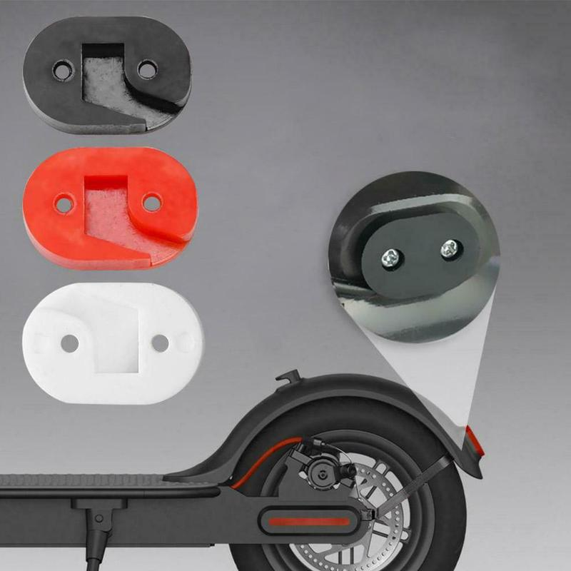 Scooter Accessories Scooter Stand Support Increased Gasket Tail Light Gasket Fender Booster Pad For Xiaomi M365 3 Colors