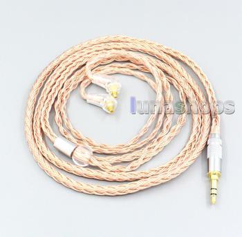 LN006761 2.5mm 4.4mm 3.5mm XLR 16 Core 99% 7N OCC Earphone Cable For Sony XBA-H2 XBA-H3 XBA-Z5 xba-A3 xba-A2