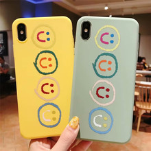 Frosting ultra thin back Cover funda for iPhone XS MAX phone cases For Apple X XR 7 8 plus 6 6s