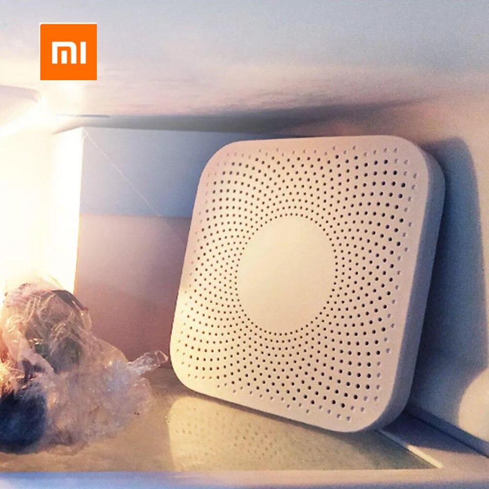 Xiaomi VIOMI VF-2CB Square White Kitchen Refrigerator Air Purifier Household Ozone Sterilizing Deodor Device Flavor Filter Core