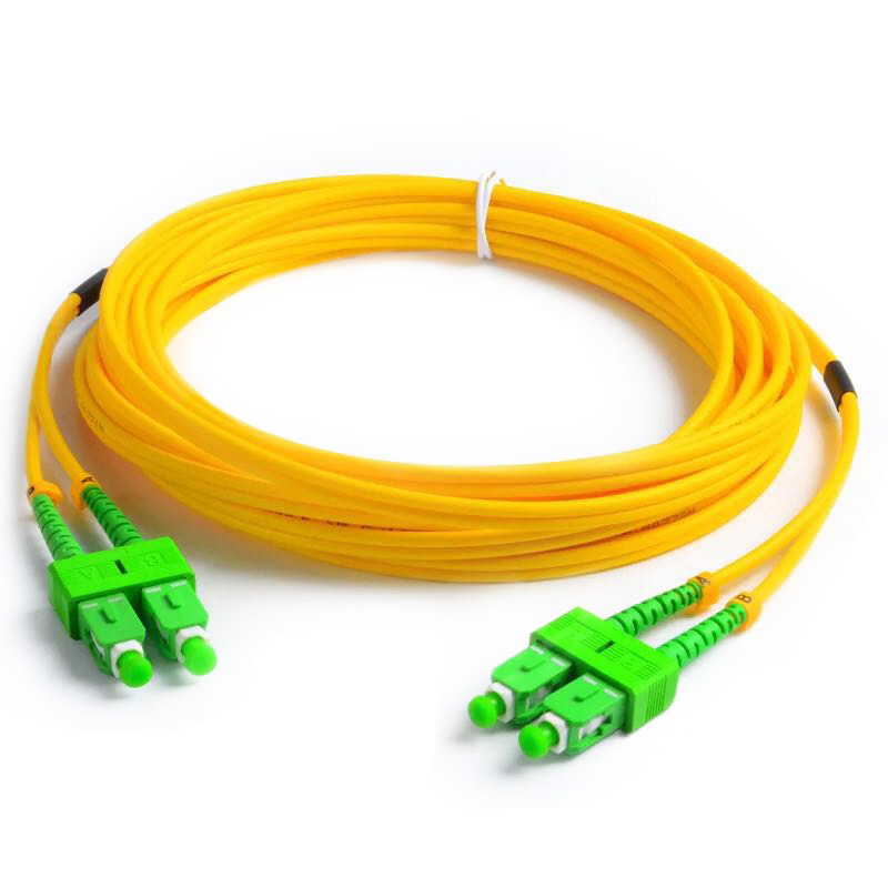 10 шт. волоконно-оптический патч-кабель SC/APC-SC/APC SM G657A2 дуплекс 3,0 мм LSZH волоконно-оптический патч-корды соединительный кабель
