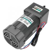 AC220V 120W 3K/40K/60K Single Phase Asynchronous Gear Motor Adjustable Motor with Capacitor