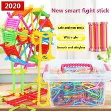 370-1680pcs Магнитный конструктор модели & игрушки строительные блоки образовательные игрушки для ChildrenAssembling волшебная палочка смарт-палки