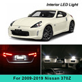 7 Pcs Xenon Weiß Led-leuchten Interior Package Kit Für 2009-2019 Nissan 370Z Karte Trunk Kennzeichen Licht