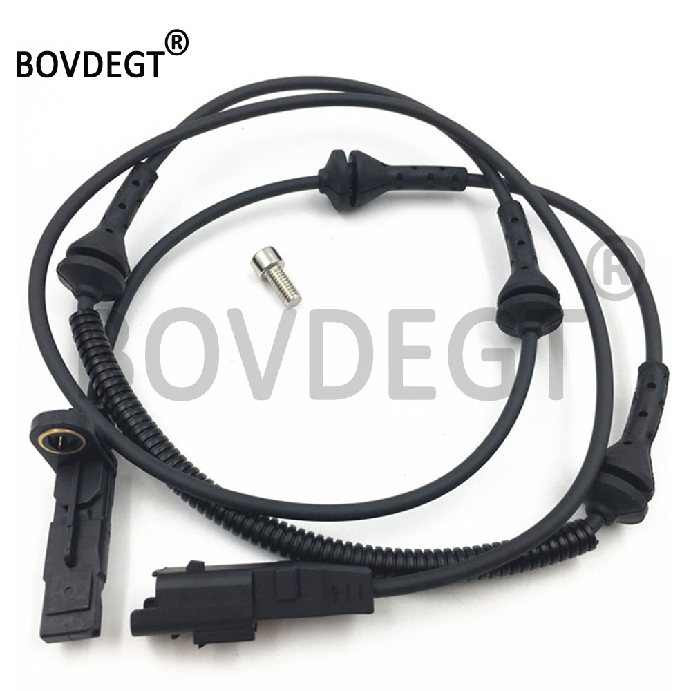 Front Links En Rechts Abs Wheel Speed Sensor Voor Citroen C6 Peugeot 407 6D Sw Coupe Etc. 4545A9 4545G6