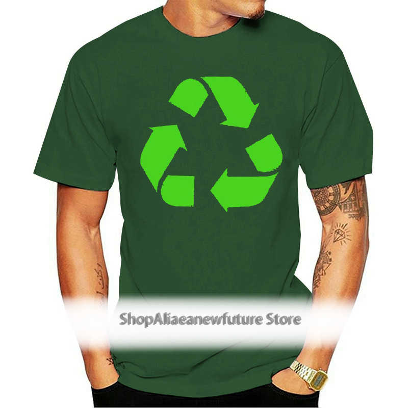Recycler femmes t shirt symbol eco friendly enviromental terre wwf cadeau
