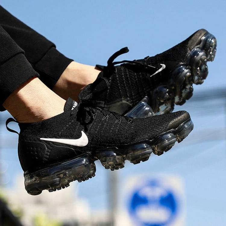 Оригинальные подлинные мужские кроссовки для бега NIKE AIR VAPORMAX FLYKNIT 2,0, спортивные уличные кроссовки, прочные, хорошее качество, 942842