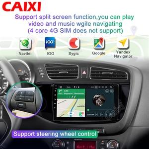 Image 2 - CAIXI 2din Android Car Radio Multimedia Video Player autoradio rds audio GPS Navigation dvd  For KIA Ceed CEED JD 2012 2018