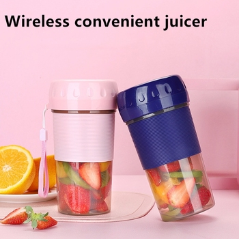 300ml Mini Portable Electric Fruit Juicer USB Rechargeable Smoothie Maker Blender Machine Sports Bottle Juicing Cup Dropshipping smoothie maker blender shake slow juicer mini portable usb rechargeable electric fruit juicer machine