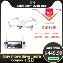 FIMI X8 SE Camera Drone x8se drone RC Helicopter 5KM FPV 3-axis Gimbal 4K Camera GPS 33mins Flight Time RC Drone Quadcopter RTF