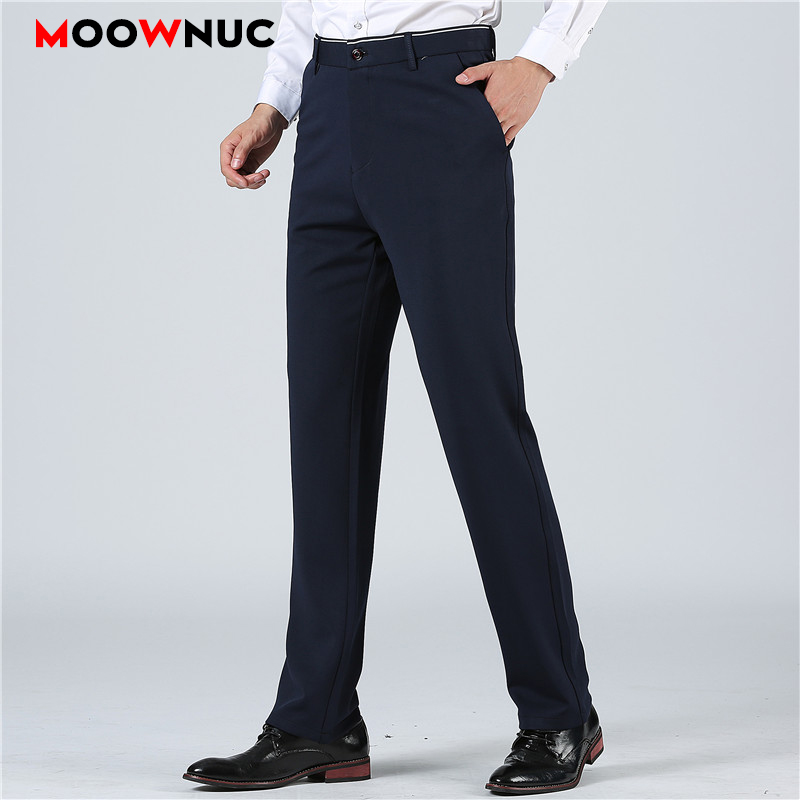 Men Pants Streetwear Hombre Coverall Men's Trousers For Suits Business Casual Fashion Solid Masculino Super Size 29-52 38 40 42