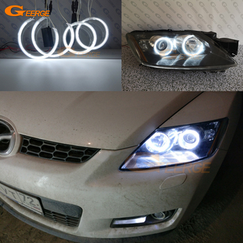 цена на For Mazda cx 7 CX-7 2006 2007 2008 2009 2010 2011 2012 Excellent Ultra bright illumination CCFL Angel Eyes kit Halo Ring