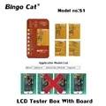 Outil de testeur d'écran tactile de convertisseur analogique numérique d'affichage de S1 3D avec le panneau de carte PCB pour l'iphone 6s à 8p x xs max xr 11 pro Test maximum d'écran tactile d'affichage à cristaux liquides