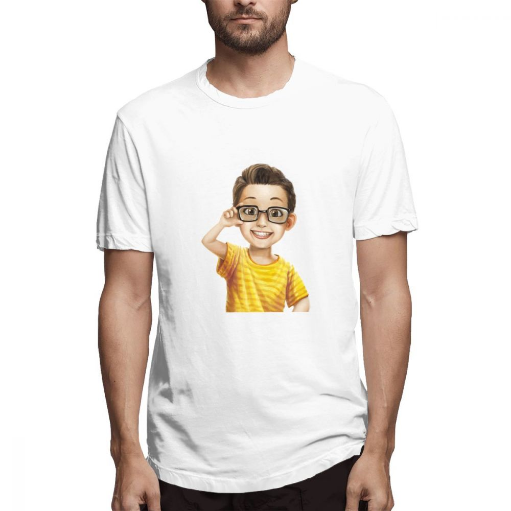100 cotton Boy print casual men 39 s o neck t shirts fashion Men 39 s Short Sleeve T shirt in T Shirts from Men 39 s Clothing