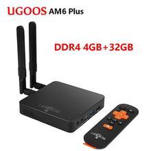 UGOOS AM6 Plus Android 9.0 Smart TV BOX 4GB/32 GB T