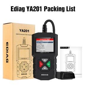 Image 5 - اديج YA201 رمز القارئ OBDII/EOBD YA 201 USB ترقية OBD2 الماسح الضوئي YA101 أدوات للسيارات PK KW680 CR319 AD310 لاختبار السيارات