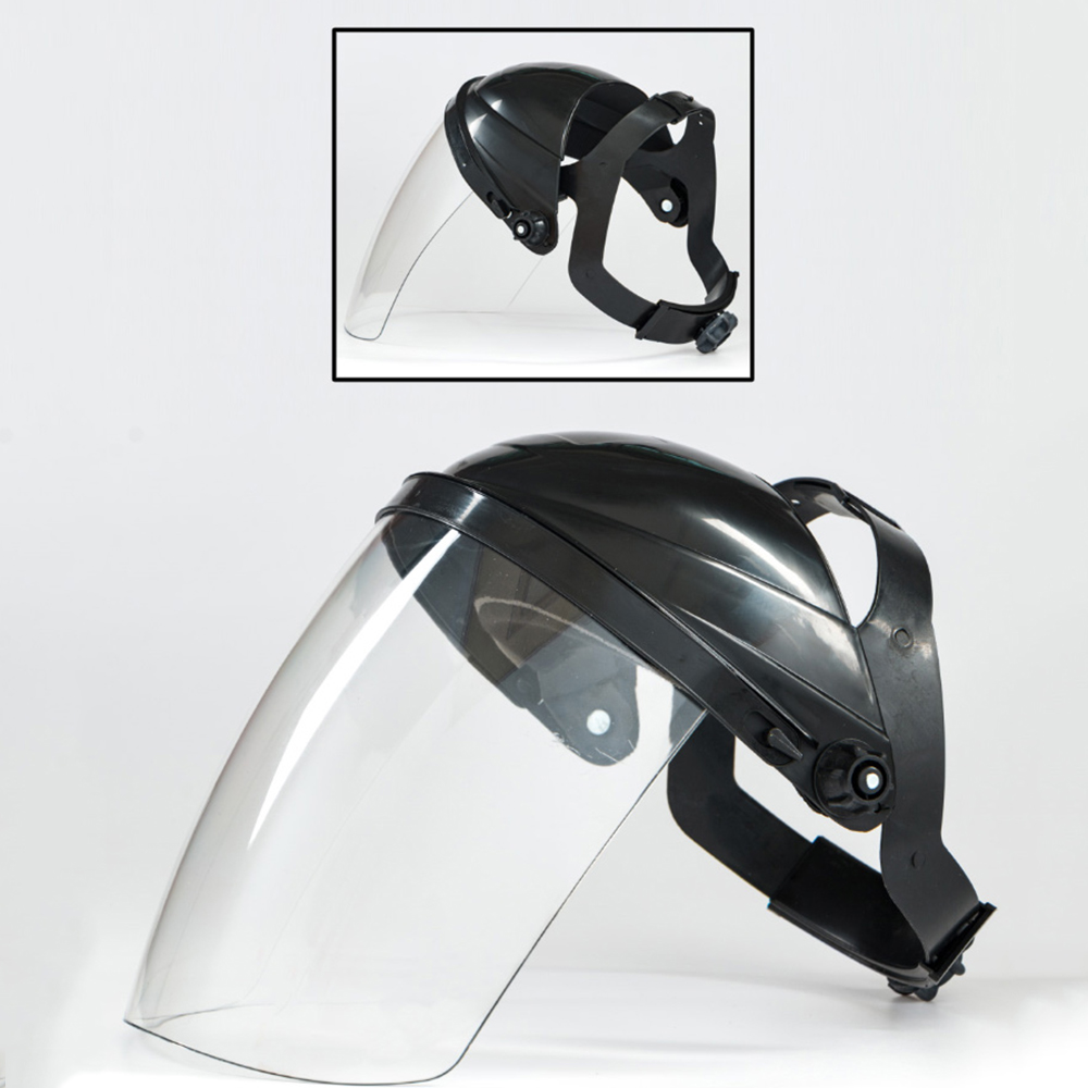 Full Face Safety Shield Tool Clear Glasses Painting Eye Protection Grinding