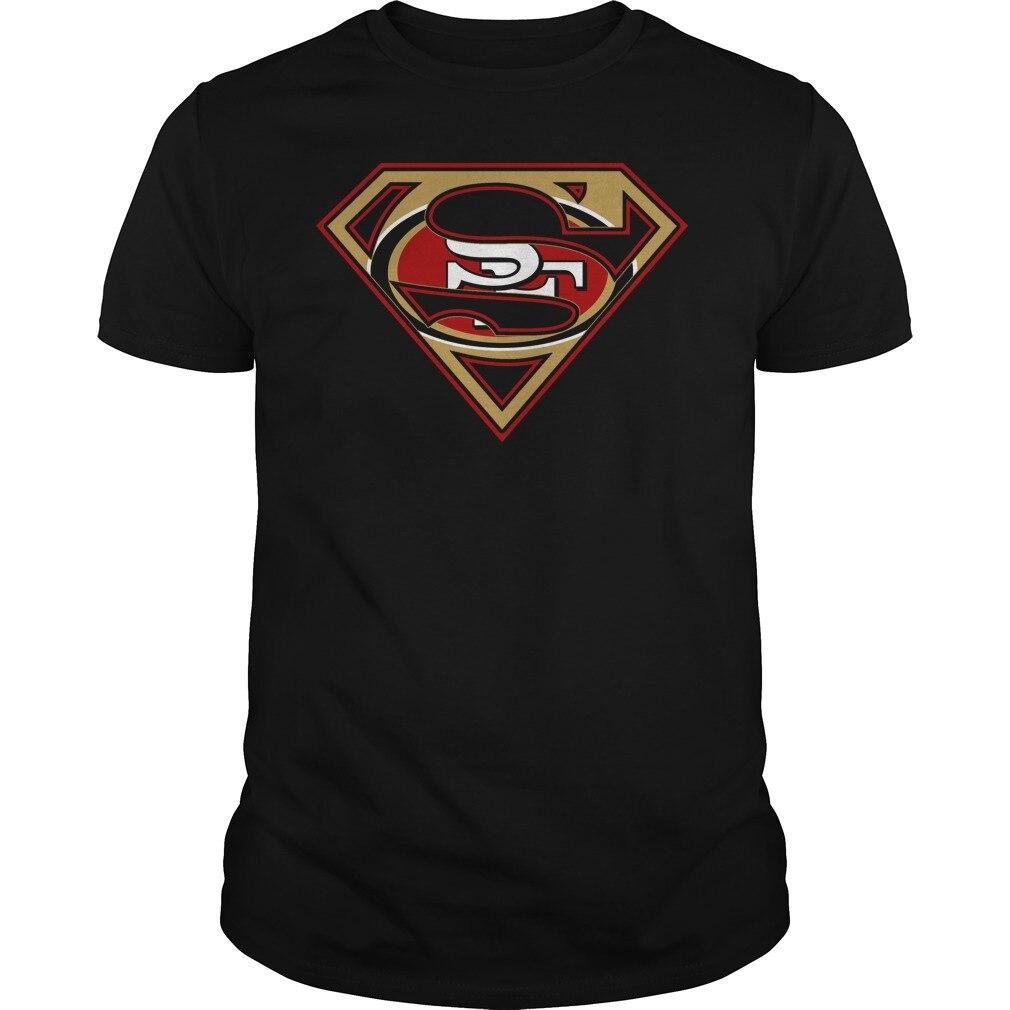 49Ers  Superman Logo T-Shirt