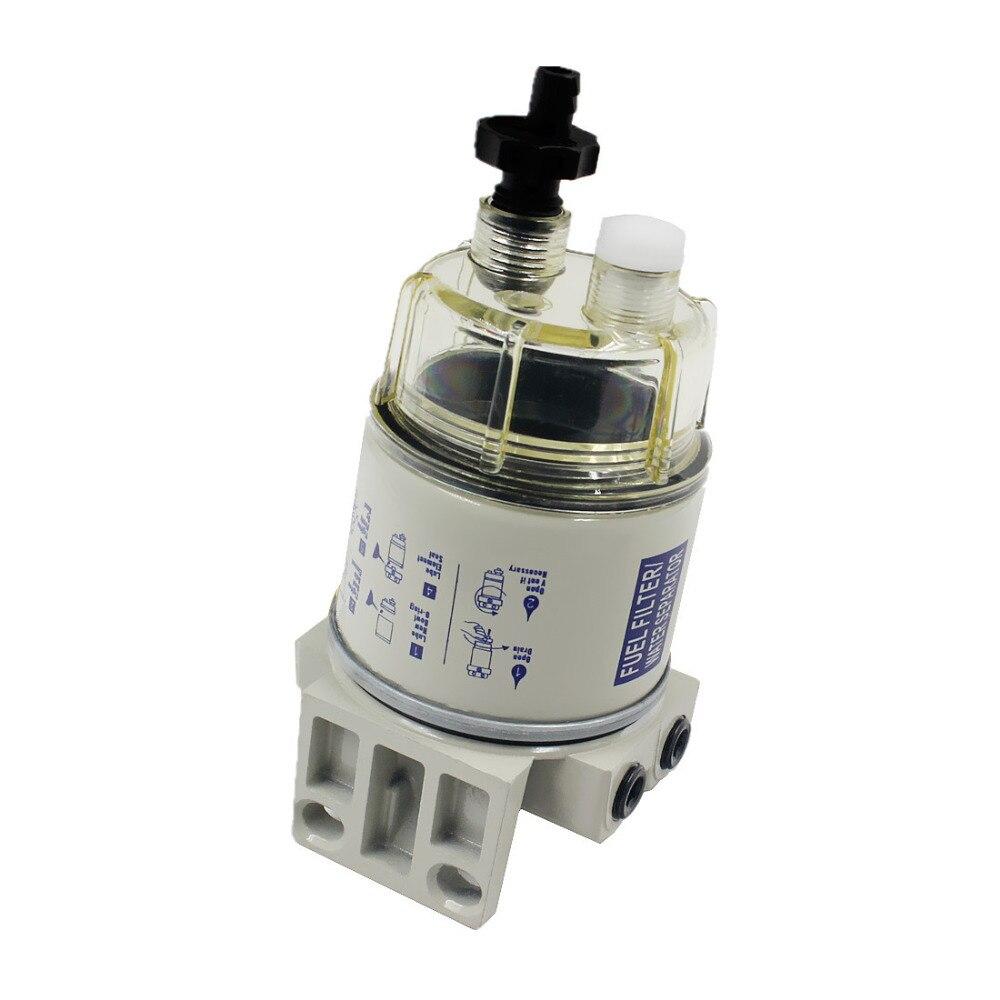 2 pcs R12T carburant/eau séparateur filtre moteur diesel pour Racor 140R 120AT S3240 NPT ZG1/4-19 pièces automobiles complet Combo - 4
