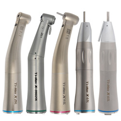 Ti-Max X25L/X95L Style Dental Fiber Optic Contra Angle Low Speed Handpiece 1:1/1:5/20:1 Air Turbine