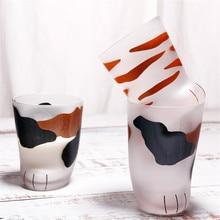 Креативная кружка с милыми кошачьими лапами, стеклянная кружка с тигровыми лапами, Офисная кофейная кружка, стакан, персональная чашка для завтрака, фарфоровая чашка, подарок 4