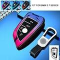 Zinc Alloy Car Key Case Cover For BMW 1 3 5 7 Series X1 X3 X4 X5 X6 M3 M5 F20 F30 F10 F15 F16 F45 F46 G20 G30 G32 G11 G12