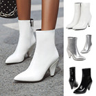 White High Heels Wed...