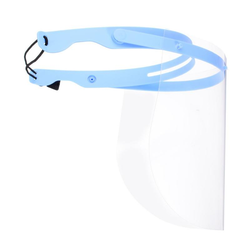 1pc/5pcs/10pcs Head-Mounted Clear Face Cover with Flip-Up Visor for Full Face Protection 2