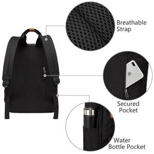 Image 5 - Vaschy mulheres mochila de viagem sacos de escola para meninas sacos de bookbag portátil mochila feminina