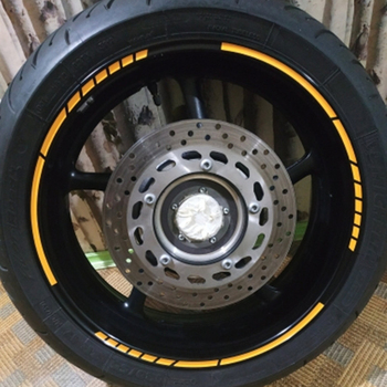 Motorcycle Wheel Stickers  2