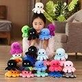 Детская симпатичная мягкая двухсторонняя кукла-Пульпо, рождественский подарок для детей, двухсторонняя флип-плюшевая игрушка, детский под...