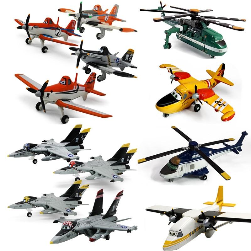Disney Pixar Самолеты № 7 пыльный крофомеп металлический Литая игрушка самолет 1:55 Pixar самолёт мобилизационная игрушка подарок бесплатная достав...