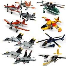 Disney pixar aviões no.7 empoeirado crophopper metal diecast brinquedo avião 1:55 pixar aeronaves mobilização brinquedos presente frete grátis