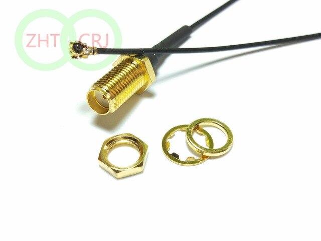 3000PCS SMA מחיצת אגוז נשית IPX U.FL נקבה 1.13 כבל צמת