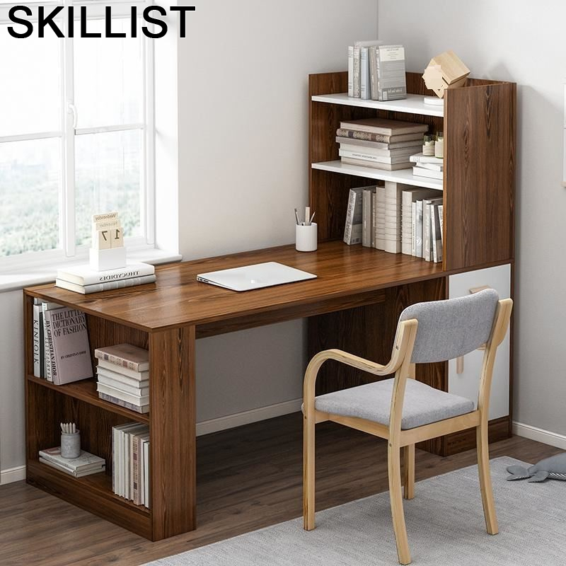 Para Notebook Tavolo Lap Desk Bureau Meuble Mueble Escritorio Laptop Stand Computer Tablo Bedside Mesa Table With Bookshelf