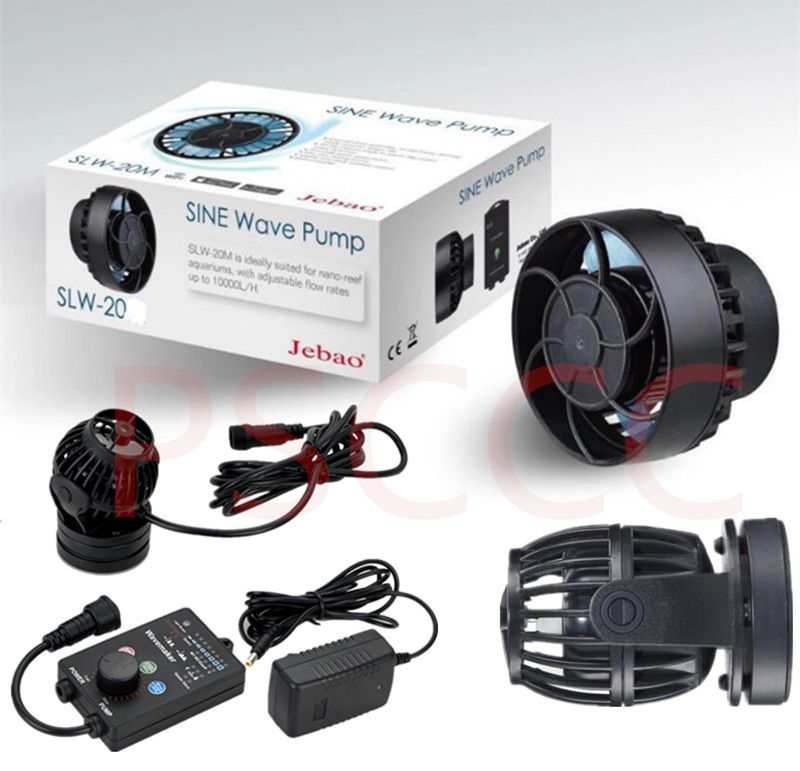 JEBAO OW-10 OW-25 OW-40 OW-50 Wireless Wave Maker Flow Pump With Controller For Coral Reef Marine Aquarium Magnet Mount