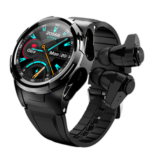2020 Smart Watch TWS Bluetooth Earphone 2In1 Heart Rate Blood Pressure Monitor Sport Smartwatch Fitness Clock for Android IOS