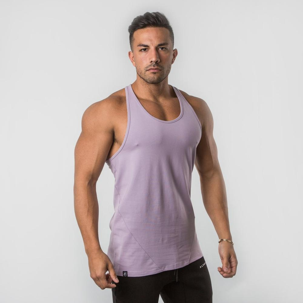 ALPHALETE Hot Sale Bodybuilding Fitness Clothing Muscle   Tops   Sleeveless Shirt Casual Vests Men O-Neck   Tank     Tops   Summer Shirt