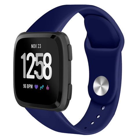 Suitable for F Versa / Versa lite smart watch Solid color reverse buckle silicone TPU strap Multan