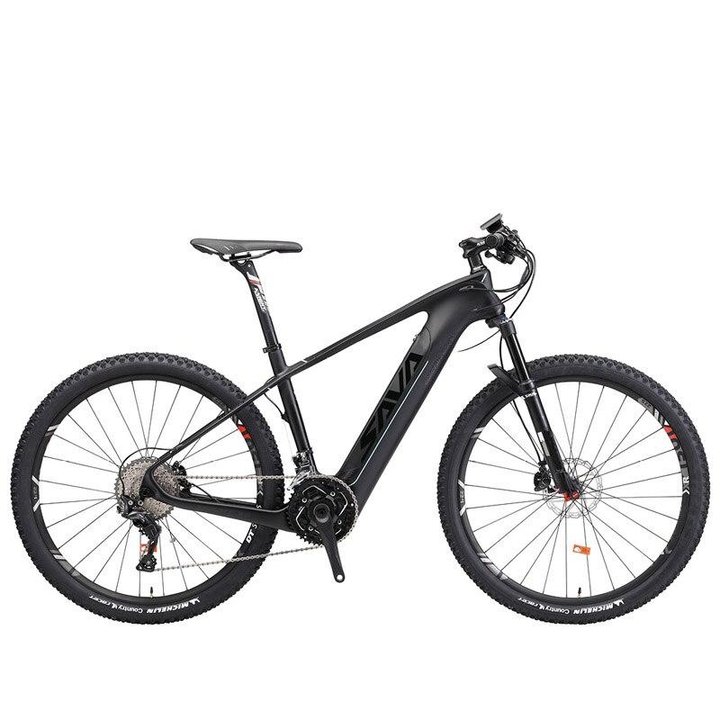 SAVA Electric mountain font b bike b font Powerful 350w Electric bicycle 36v Adult electric bicycle