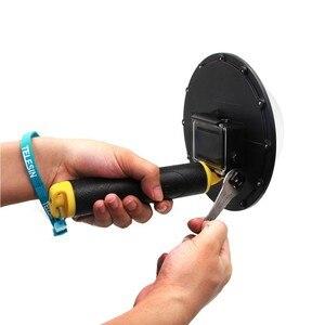 Image 5 - Go Pro Cupola Porta Per GoPro Eroe 7 6 5 Subacquea Impermeabile Custodia Scatola di Trigger Grip Della Cupola di Copertura Sfera accessori