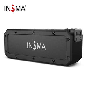 INSMA Stereo Subwoofer Speaker Boombox NFC 40w Bluetooth Waterproof Outdoor Portable