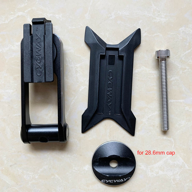 Alloy Cycling Stem Phone Mount Ride Case Holder for Mobile,Cell Phone Bike Universal Phone Holder 28.6mm /& OD2 31.8mm