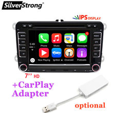 Silverstrong 2Din Android10.0 Carplay Dvd Voor Volkswagen PassatB6 B7 Voor Golf MK5 MK6 Auto Android Dvd Gps Voor Vento Radio 65DS(Hong Kong,China)