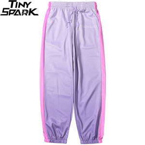 Image 3 - 2020 Hip Hop Joggers Pants Gradient Color Streetwear Men Harajuku Sweatpants Casual Autumn Track Pant Soft HipHop Harem Trousers