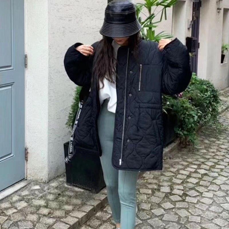 Купить зимние пальто и куртки genayooa повседневная теплая длинная