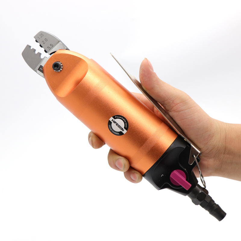 Pneumatic Air Crimping Pliers Nipper Shear Cutter Tools Metal For Wire Connector Terminal Nipper Parts Clamp Body Cut Head