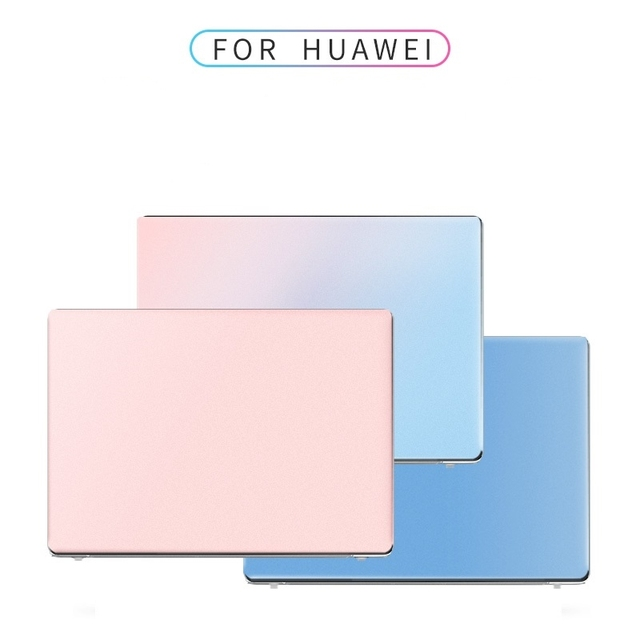 For Huawei Matebook D14 Case D 14 2020 Accessories Gradient Matte Hard Shell Laptop Cover for Matebook D15 D 15 2020 Cases Funda