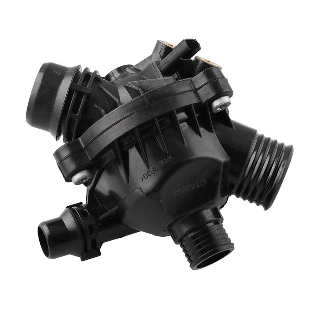 11537549476 résistance à l'usure plastique remplacement pratique voiture Thermostat noir facile installer Anti Corrosion pour E90 330 E60 530